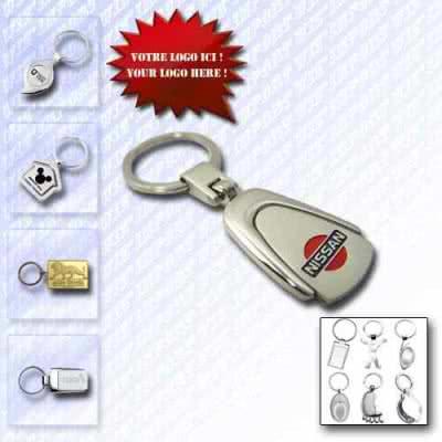 Porte-clé métallique design